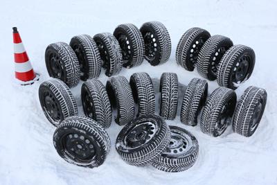 Reifen im Schnee; Quelle: ADAC Foto: Wolfgang Grube